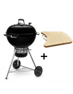 Pack Barbecue Mastertouch Noir 5750 + Tablette Latérale