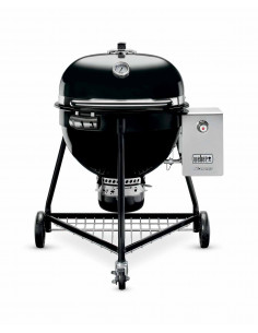 Pack barbecue Summit Charcoal + Housse Premium Weber