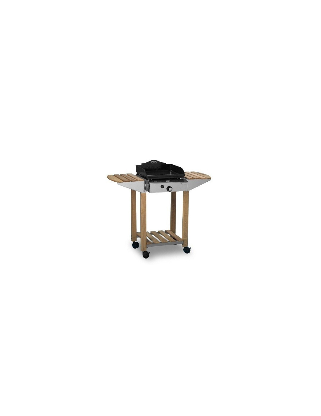 chariot plancha en bois forge adour prestige esprit barbecue. Black Bedroom Furniture Sets. Home Design Ideas