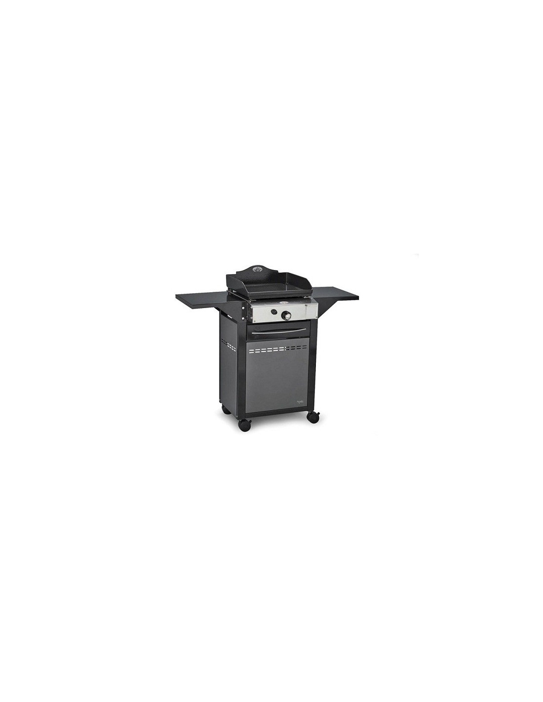 chariot plancha ferm en fer forge adour esprit barbecue. Black Bedroom Furniture Sets. Home Design Ideas