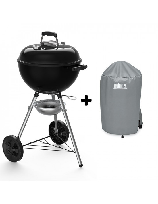 Pack Barbecue Original Kettle E4710 + Housse standard Weber