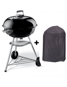 Pack barbecue Compact Kettle 57cm + housse Esprit Barbecue