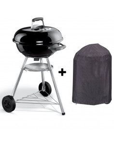 Pack barbecue Compact Kettle 47cm + housse Esprit Barbecue