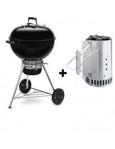 Pack Barbecue Original Kettle 5730 + Cheminée d\'allumage