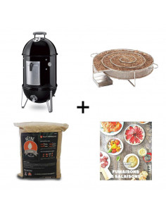 PACK fumoir Smokey Mountain Cooker 37cm WEBER