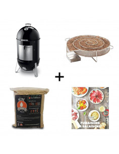 PACK Fumoir Smokey Mountain Cooker 57cm WEBER