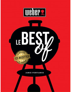 Livre Le Best Of Weber