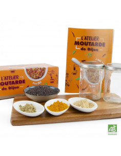 Coffret DIY Moutarde Dijon Epices