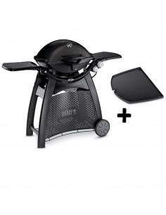 Pack barbecue Q3200 + plancha fonte Weber