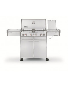 Pack Barbecue Summit S-470 + Plancha + IGrill 2 + Housse