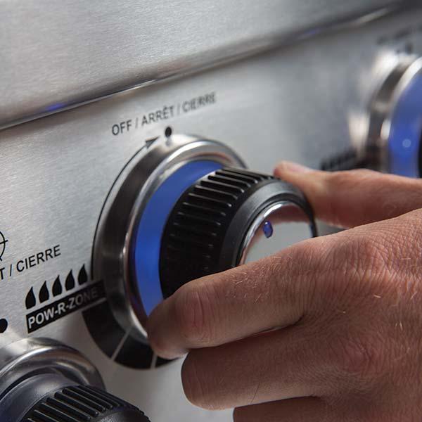 Réglage gaz haute précision