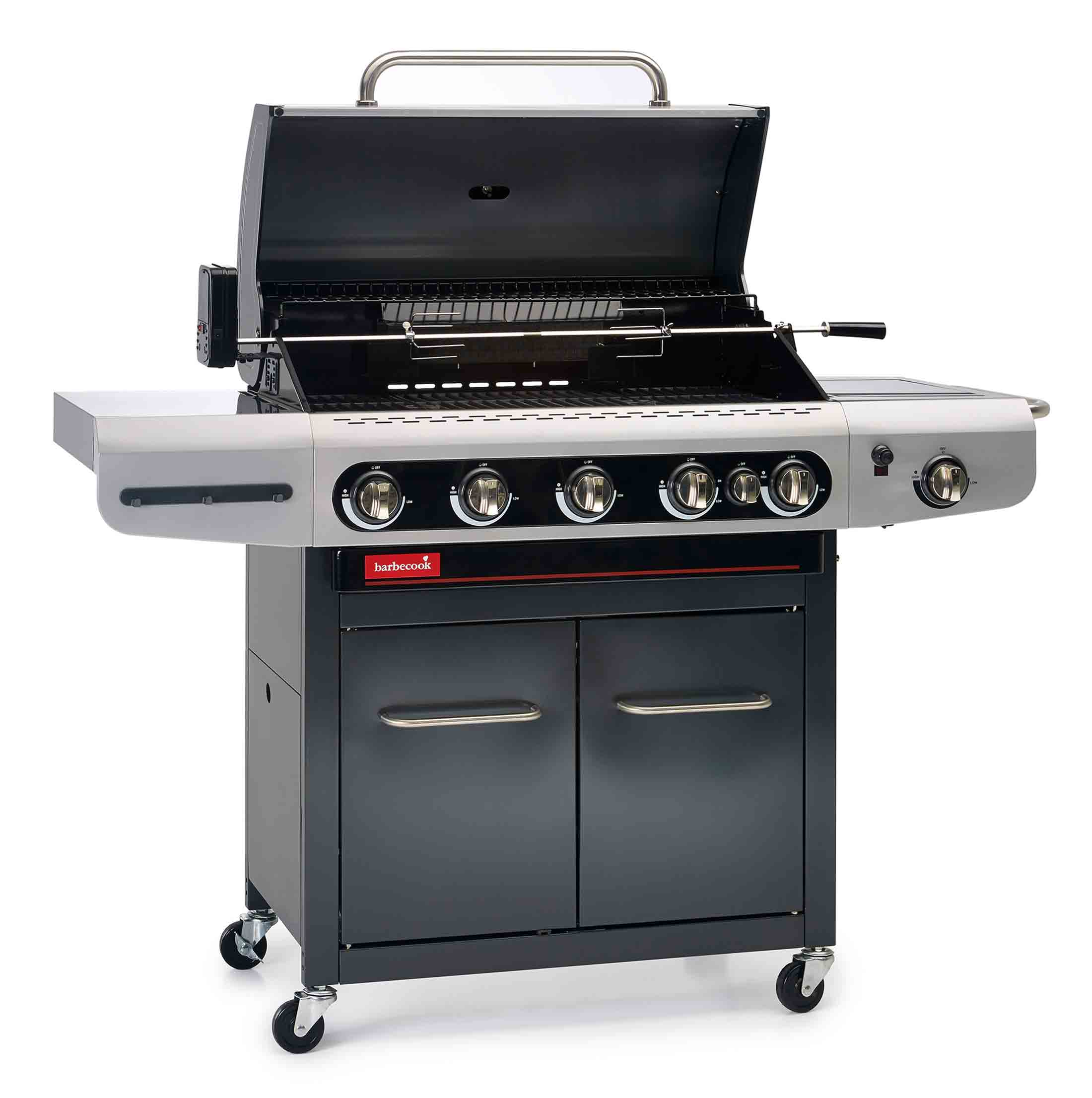 barbecue gaz siesta + tournebroche 612