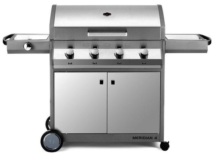 Barbecue gaz inox Cadac Meridian Braai 4 brûleurs