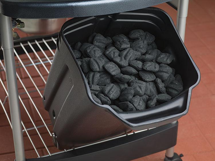 Bac à charbon