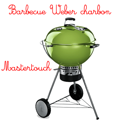barbecue charbon weber mastertouch