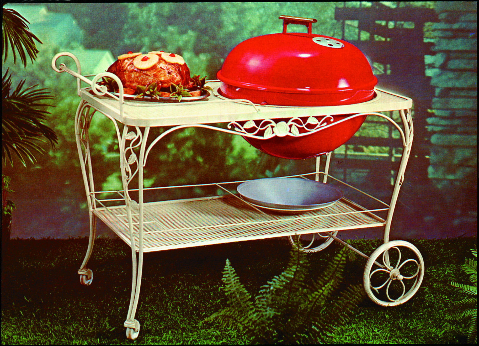 barbecue weber et poulet