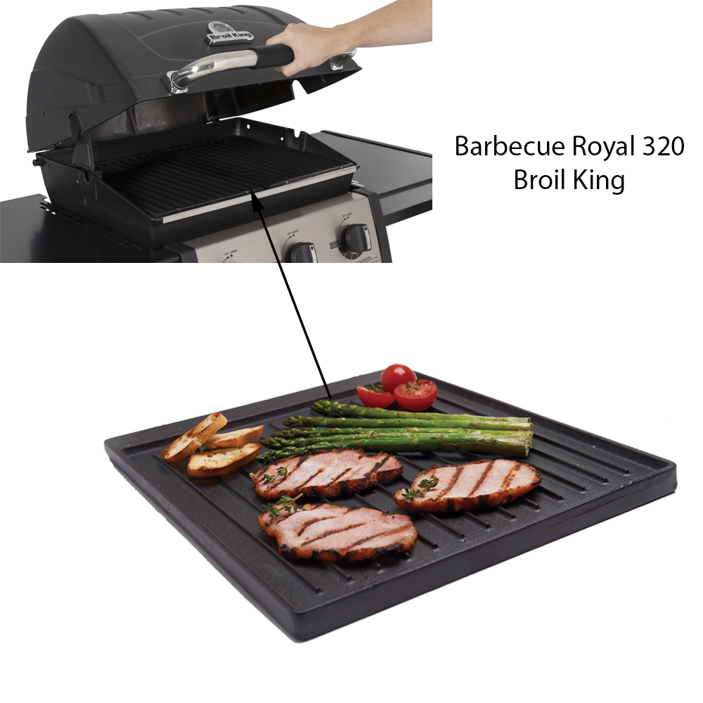 Plancha en fonte barbecue Royal 320 et 340 Broil King