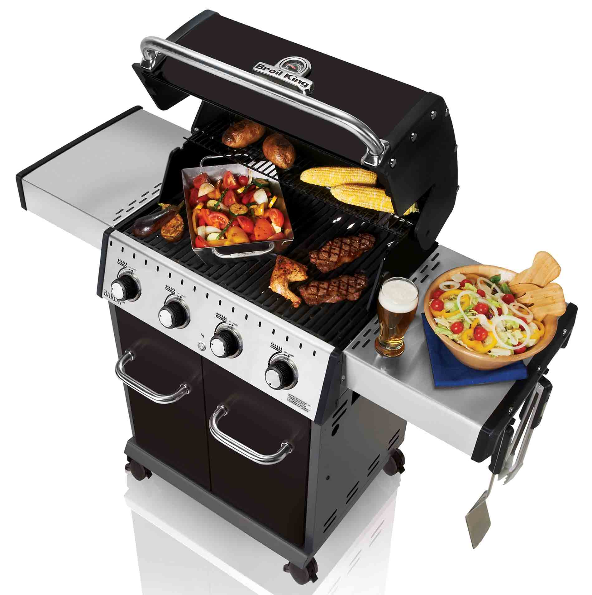 Cuisson barbecue gaz baron 420 Broil King