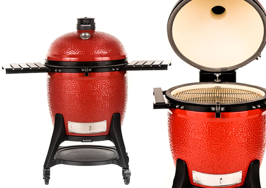 Vues Barbecue Big Joe 3 Kamado Joe