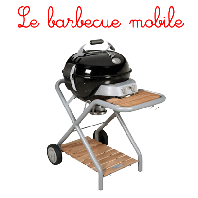 le barbecue gaz mobile