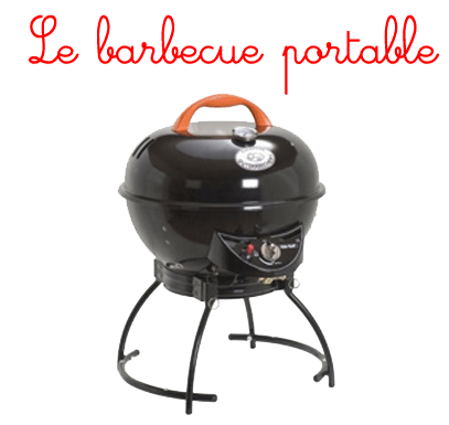 le barbecue gaz portable