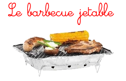 le barbecue jetable