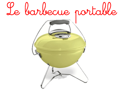 le barbecue portable