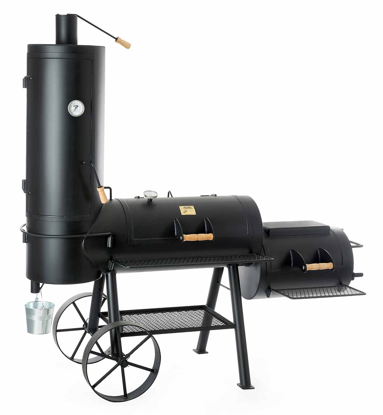 locomotive chuckwagon barbecue fumoir
