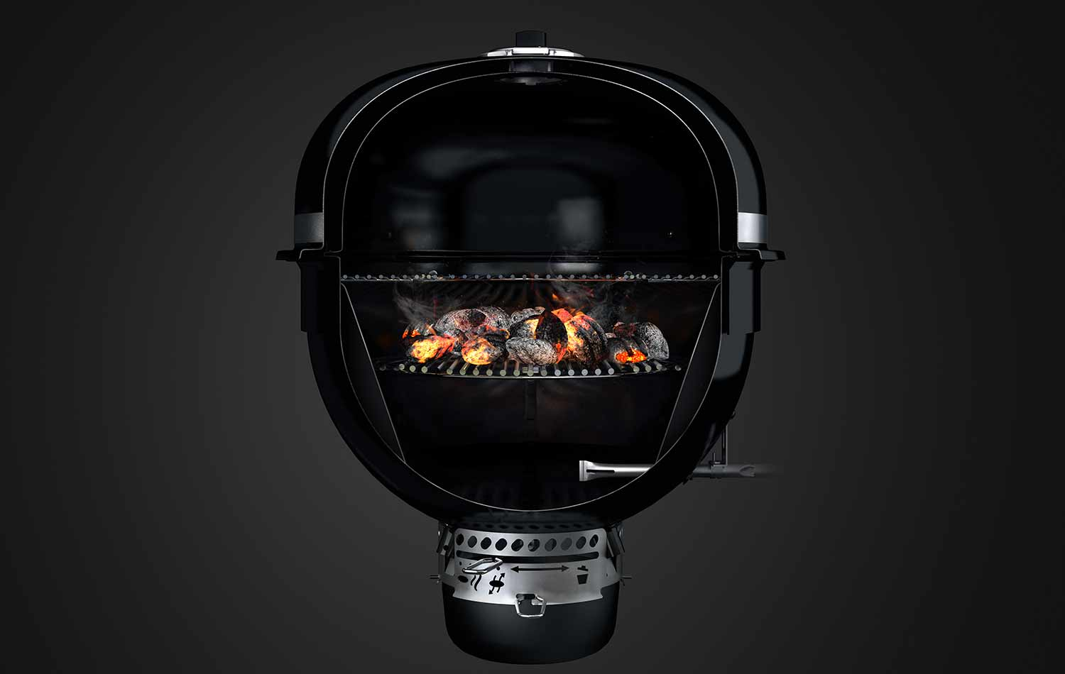 summit charcoal weber interieur