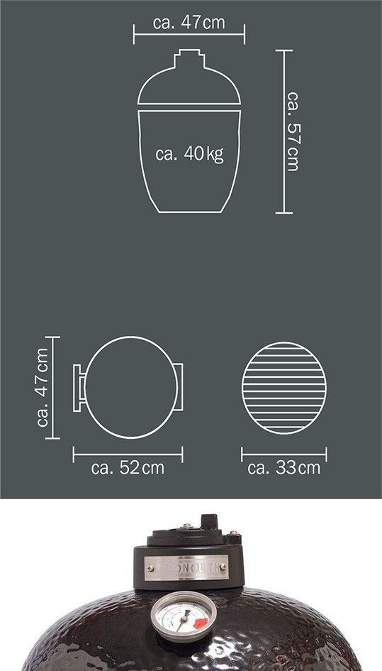 monolith classic thermomètre